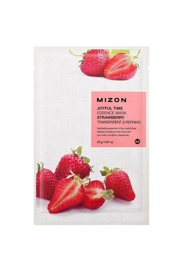 Mizon Mizon Joyful Time Essence Mask Strawberry Çilek Maskesi Renksiz